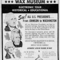 HOUSE of PRESIDENTS WAX MUSEUM