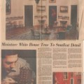 1979-02-23 Nashville Banner Miniature White House True to Smallest Detail Nashville TN small WHR