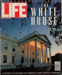 1992-10-30 Life Magazine The Wite House 1792-1992 cover sm WHR