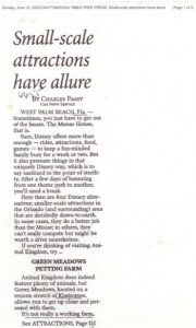 2003-06-15 Chattanooga Times Free Press Small-scale attractions have allure small WHR PHOF