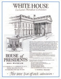 1993-__-__ HANDBILL House of Presidents A sm HOP